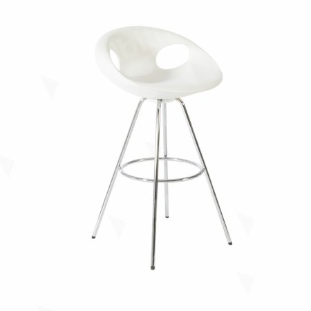 Polly Stool White