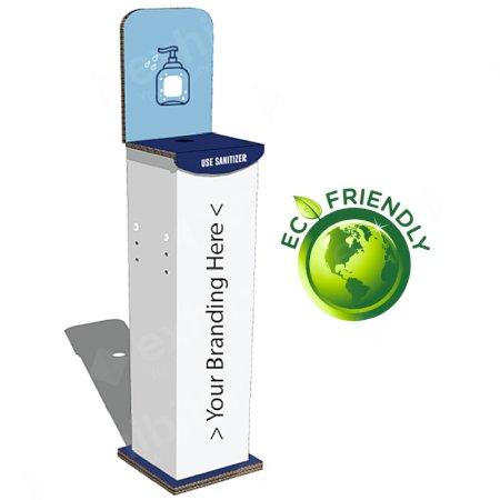 Hand Sanitiser Station (Square) inc. 1 Free Bottle of Sanitiser