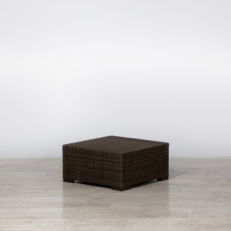 Rattan Coffee Table Small Brown