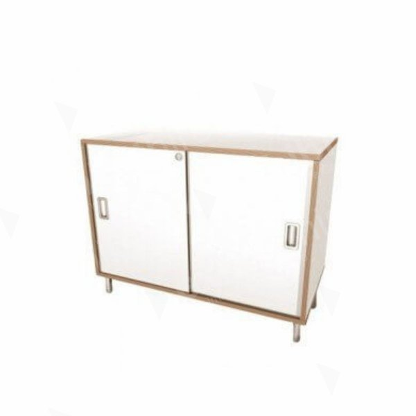 Reception Cabinet Wood Edge 1000 x 520 x 750
