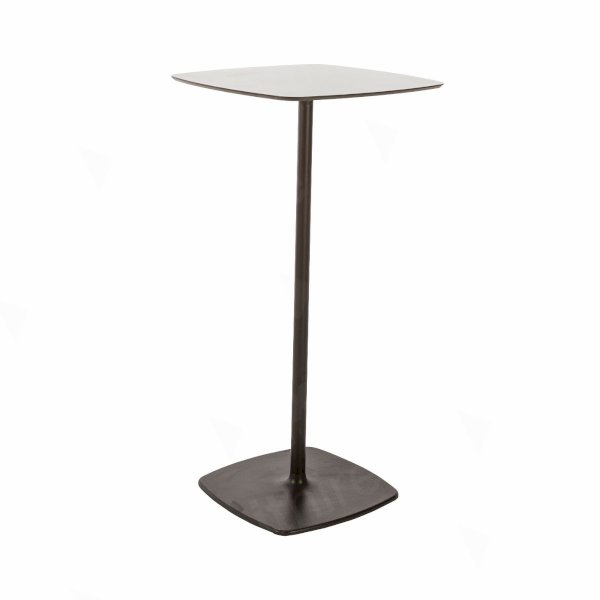 Soft Square Bar Table Black