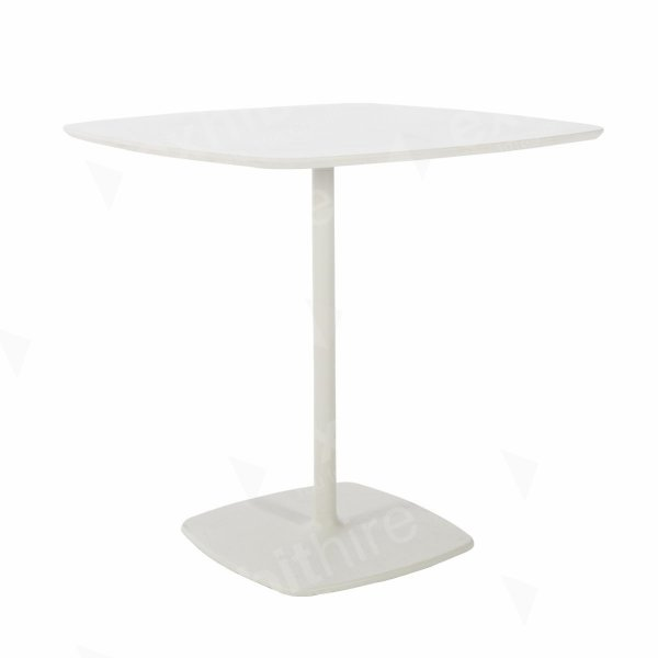 Soft Square Regular Table White