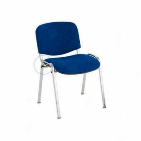 Stacking Conference Chair Blue