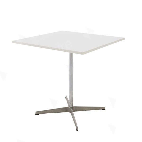 Swan Square Table White