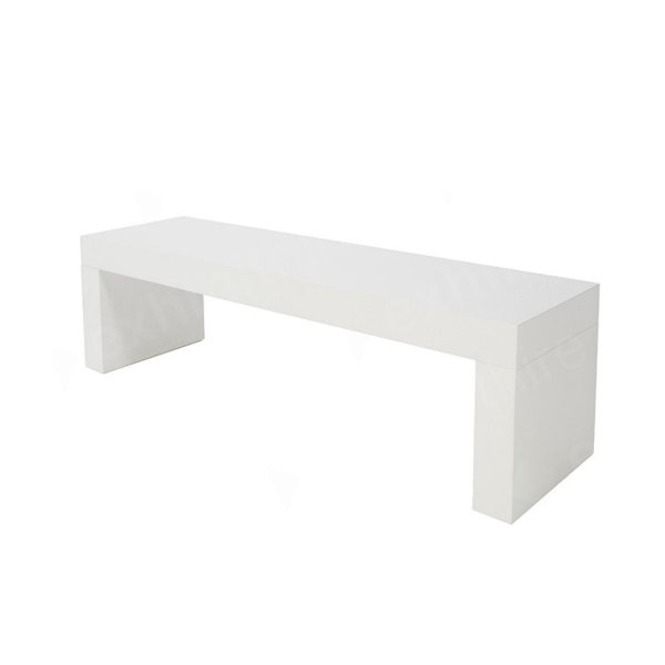 Tavola Bench White