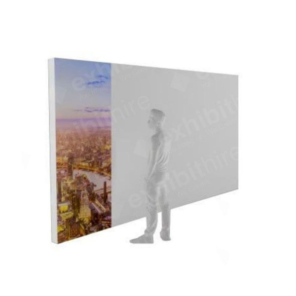 1 x 2.4m (h) Single Sided Illuminated Tension Fabric