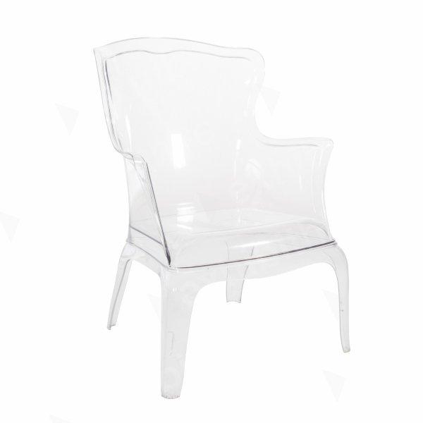 Throne Chair Clear
