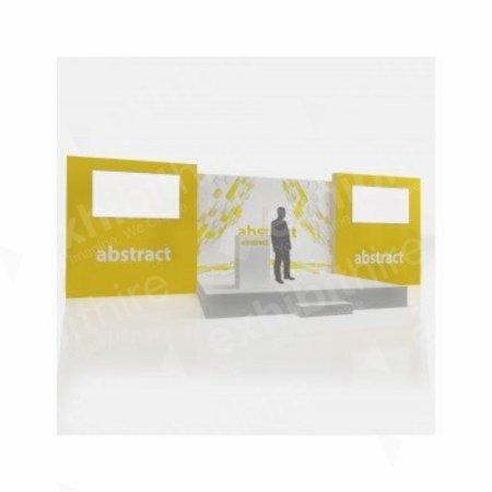 https://www.exhibithire.co.uk/The Verona Stage Package - 10m x 3m by 4m(h)