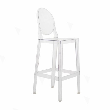 Victoria Ghost Stool Clear