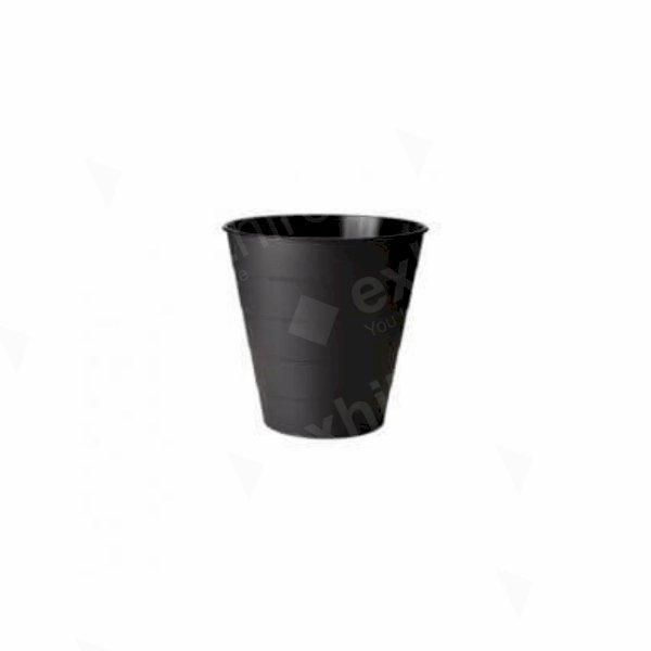 Waste Paper Basket - Black
