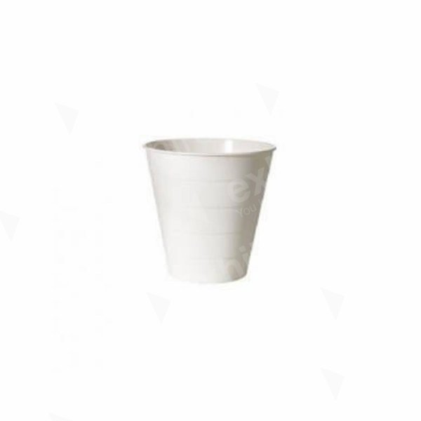 Waste Paper Basket - White