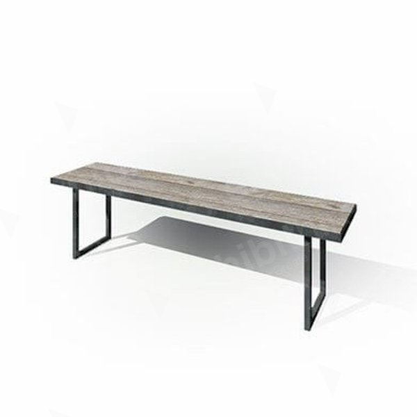 Zeitlos Bench 1800 White Wash