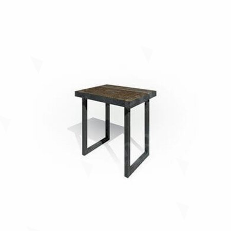 Zeitlos Bench 800 Dark Wood