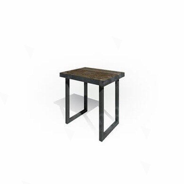 Zeitlos Bench 800 Dark Wood