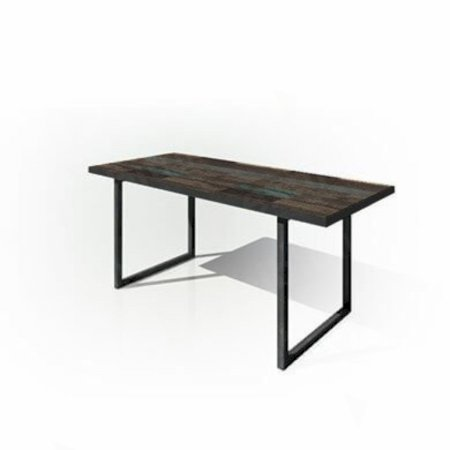 Zeitlos Table 1800 Dark Wood