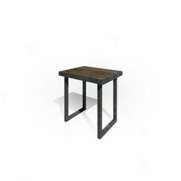 Zeitlos Table 800 Dark Wood