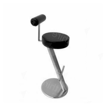 ZX Stool Black + Back Rest
