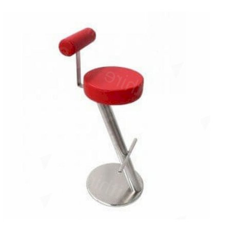 ZX Stool Red + Back Rest