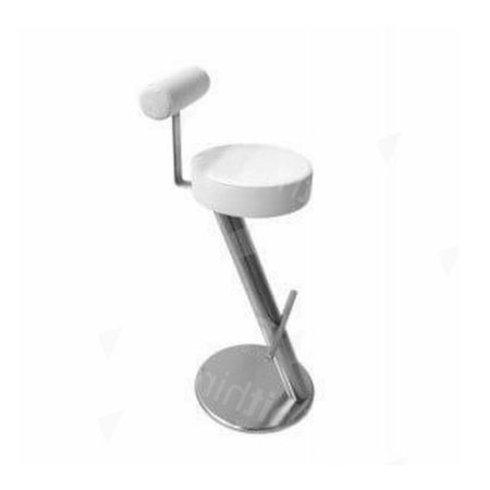 ZX Stool White + Back Rest