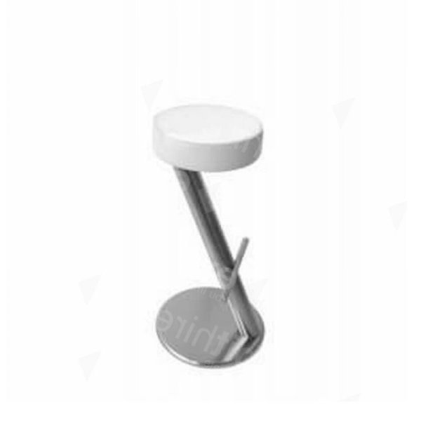 ZX Stool White Leather