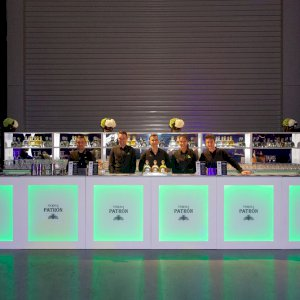 Backlit Bar Hire - Example 2