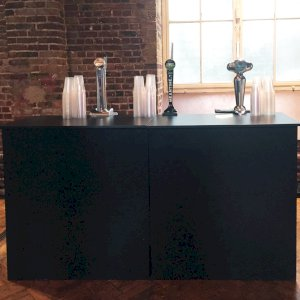 Basic Black Bar Hire - Example 1