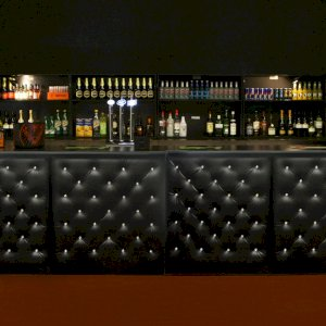 Black Chesterfield Bar Hire