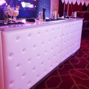 White Chesterfield Bar Hire