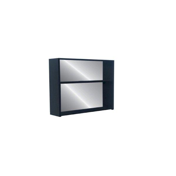 Back Bar Shelf Unit 1m - Black