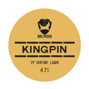 Brewdog Kingpin - 50L Keg