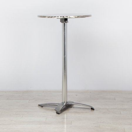 Chrome Poseur Table
