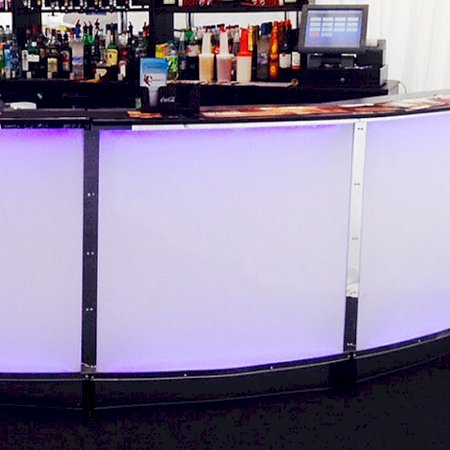 Curved Bar Section 1m (8-Piece 4m Circle)