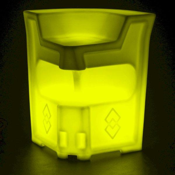 LED Colour-Changing Corner Bar