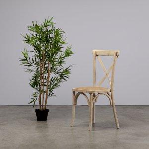 Limewash Crossback Chair