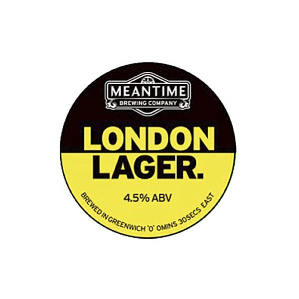 Meantime London Lager - 50L Keg
