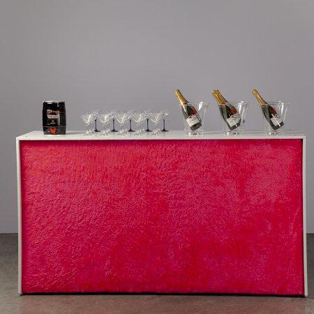 Pink Fluffy Bar - 2m Unit