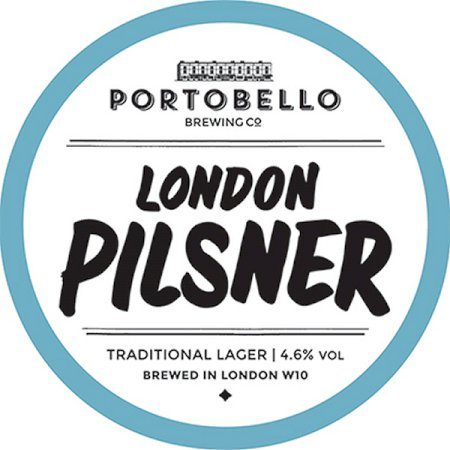 Portobello London Pilsner - 50L Keg