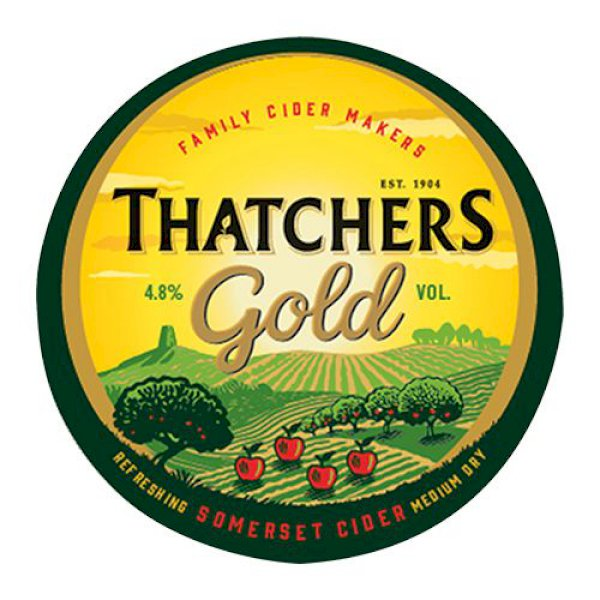 Thatchers Gold Cider - 50L Keg