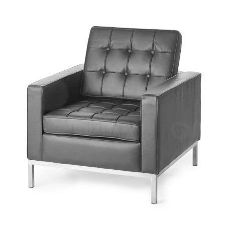 1 Seater Montague Sofa - Black