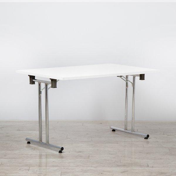 1200mm White Modular Folding Table