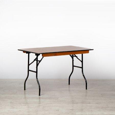 1220mm Rectangular Trestle Table