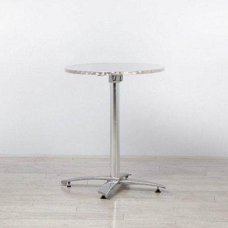 https://www.onlinefurniturehire.com/Chrome Bistro Table