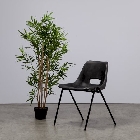 Colby Black Polyprop Chair