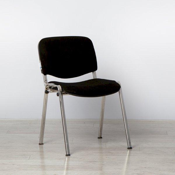 Kensington Black Stacking Chair