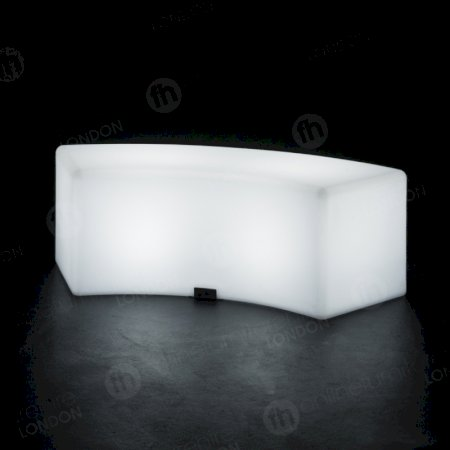 https://www.onlinefurniturehire.com/LED Colour-Changing Curved Bench