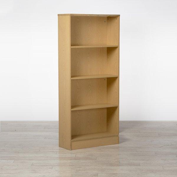 Wooden Bookcase 4 Tier