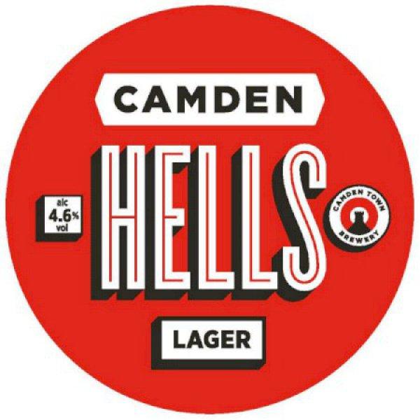 Camden Hells Lager - 50L Keg