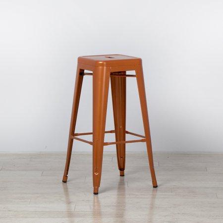 Copper Tolix Style Bistro Bar Stool