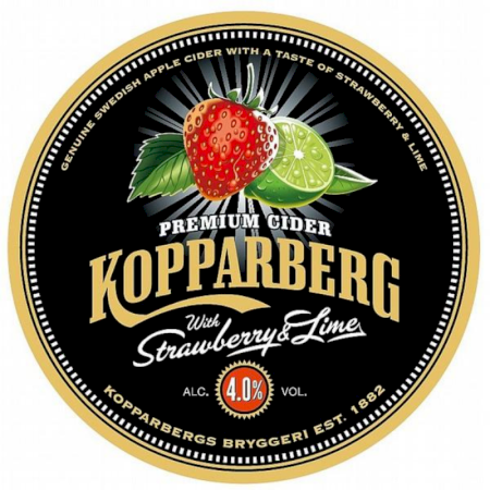 Kopparberg Strawberry & Lime - 50L Keg