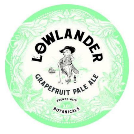 Lowlander Grapefruit Pale Ale - 20L Keg